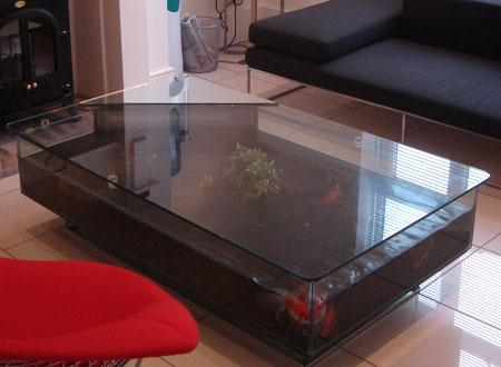 CS Coffee Table Aquarium Click for Details Bespoke Designer