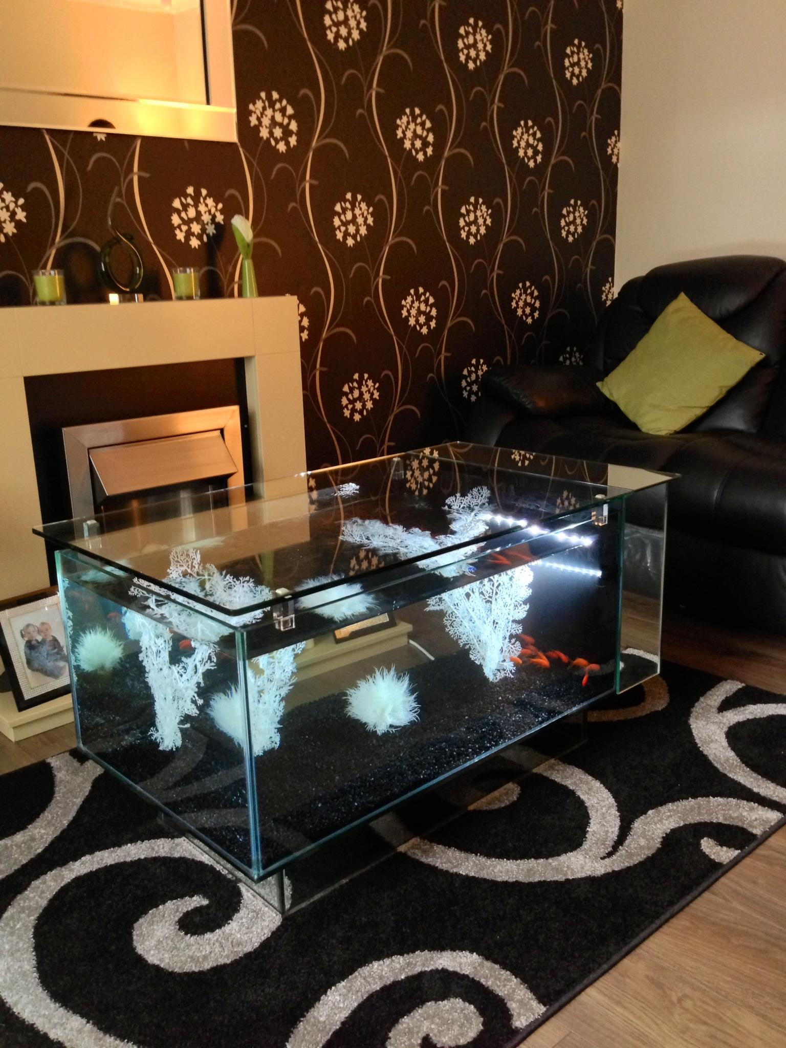 Tropical Table Aquarium - Click for Details | Bespoke Designer ...